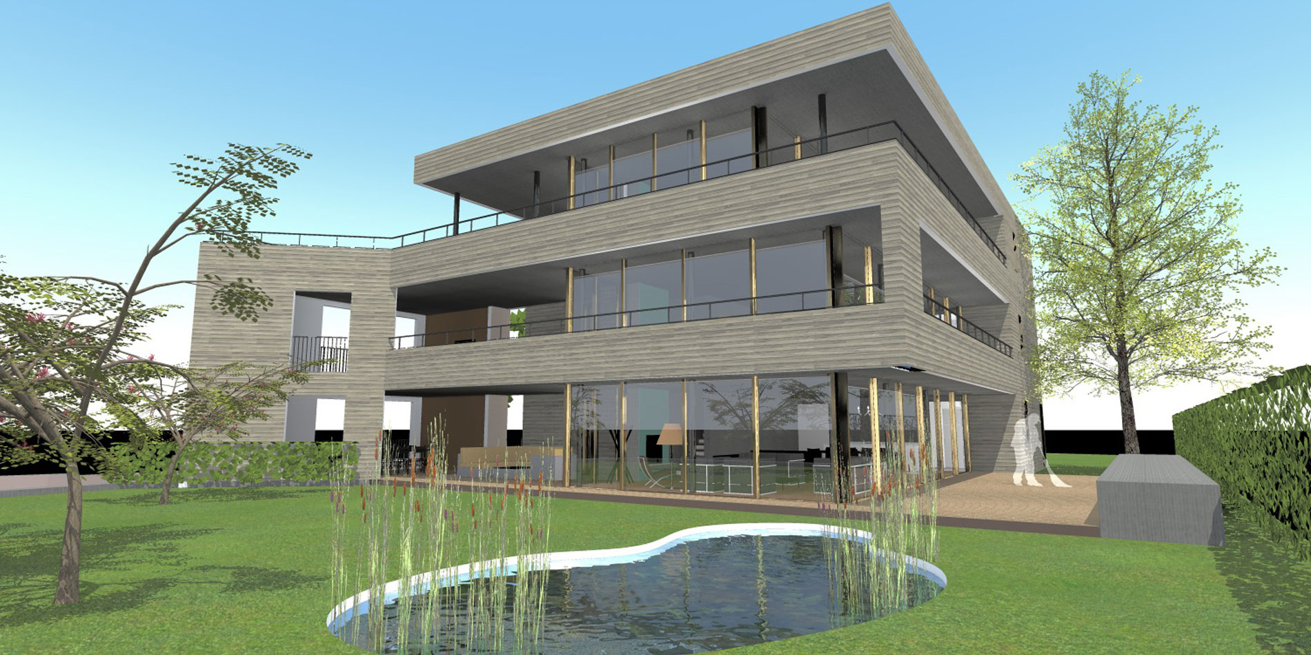 Schmid Partner Architekten Neubau Holzbau C11404 Birmensdorf 1