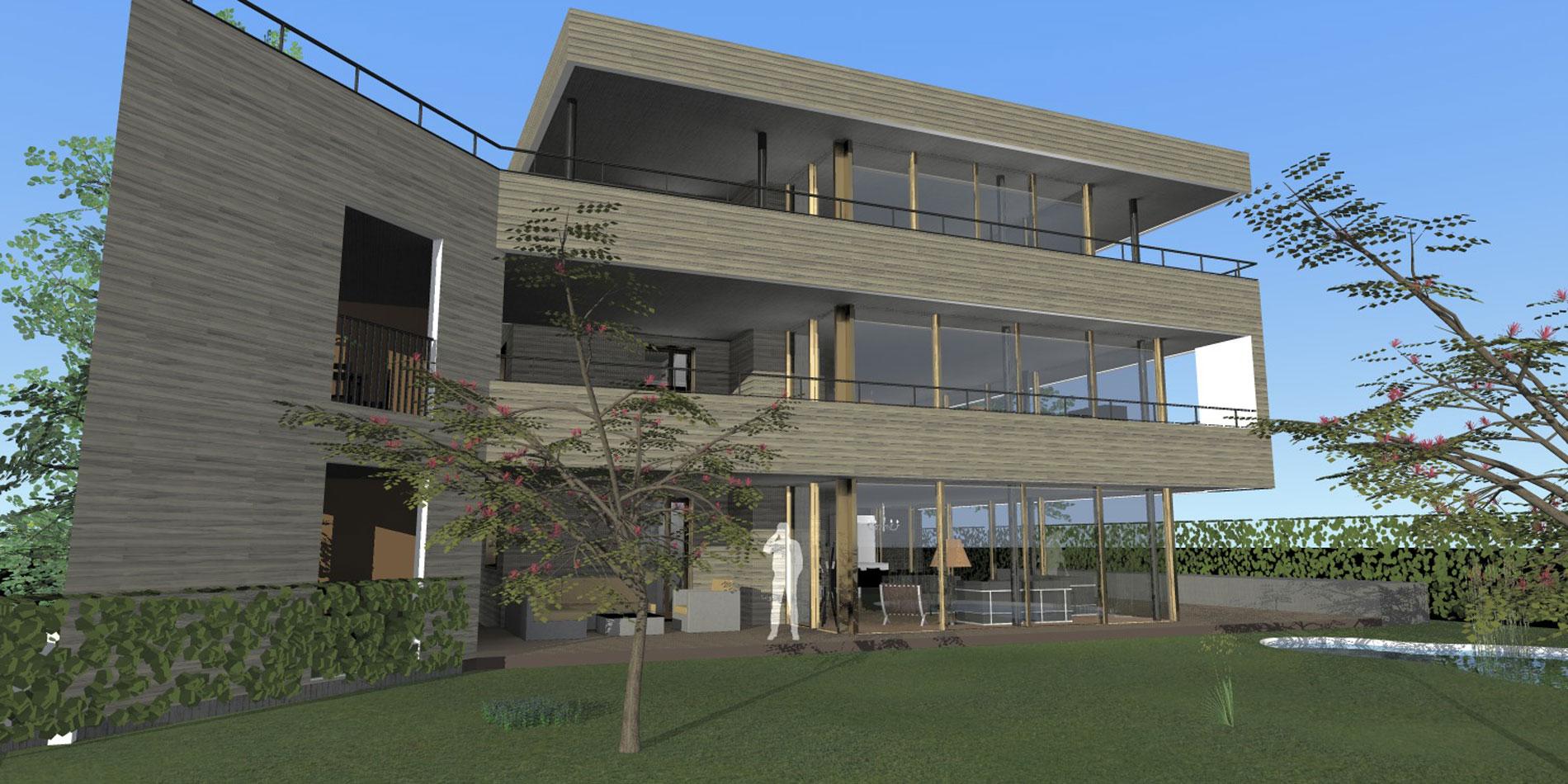 Schmid Partner Architekten Neubau Holzbau C11404 Birmensdorf 3