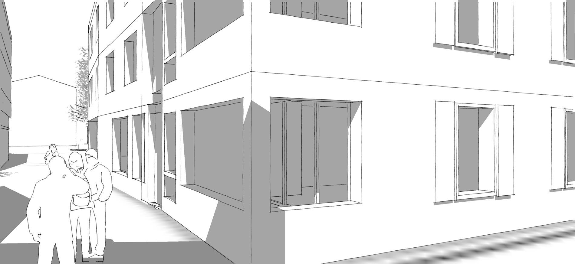 Schmid Partner Architekten Steinen Detail 1