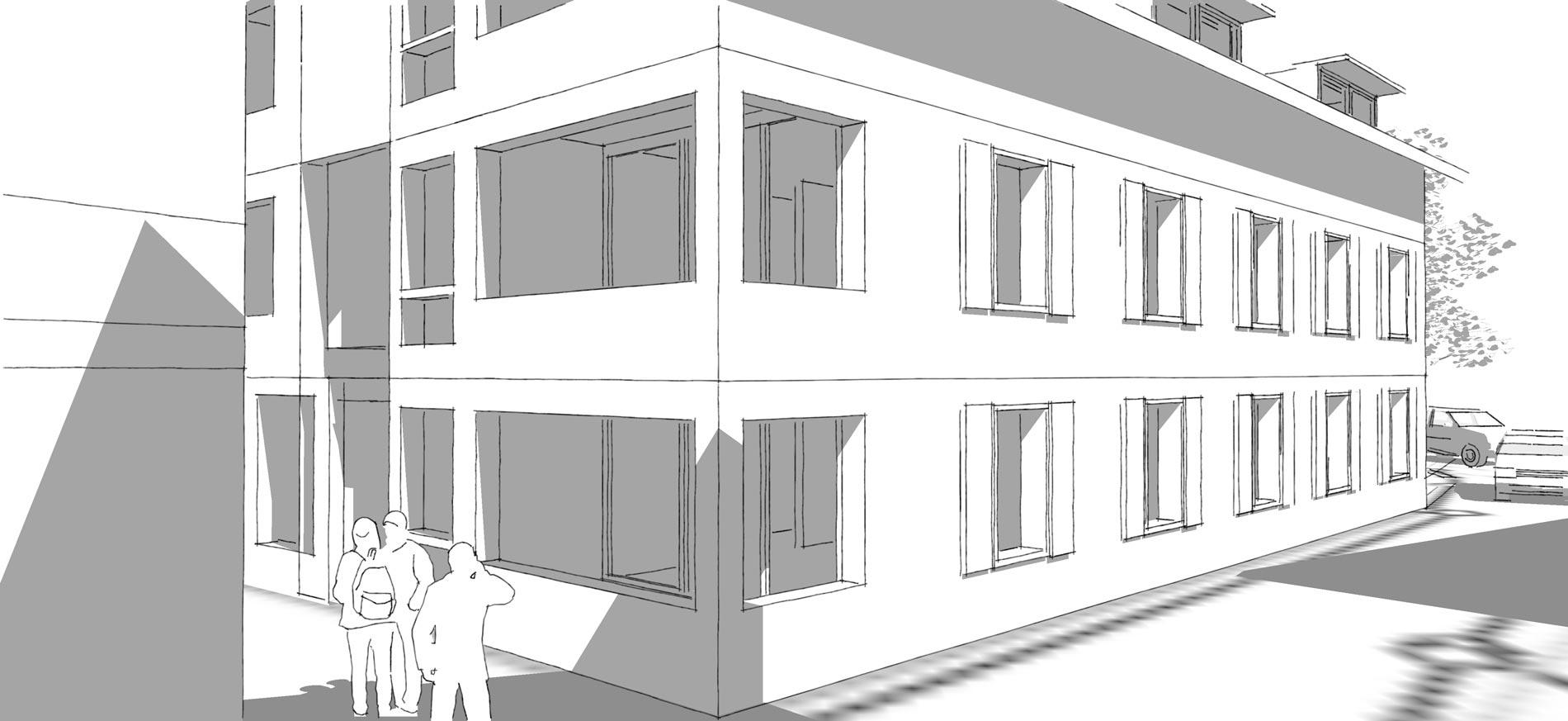 Schmid Partner Architekten Steinen Detail 2