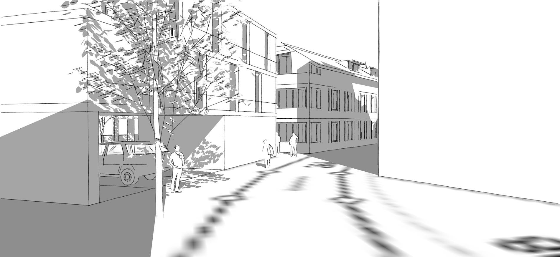 Schmid Partner Architekten Steinen Gasse 3