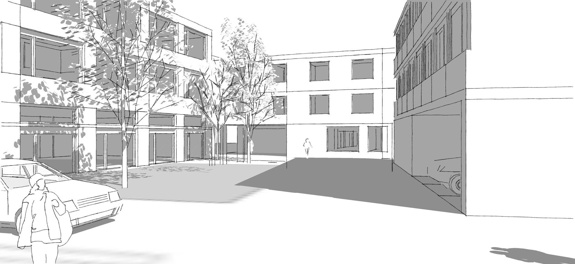 Schmid Partner Architekten Steinen Hof 1