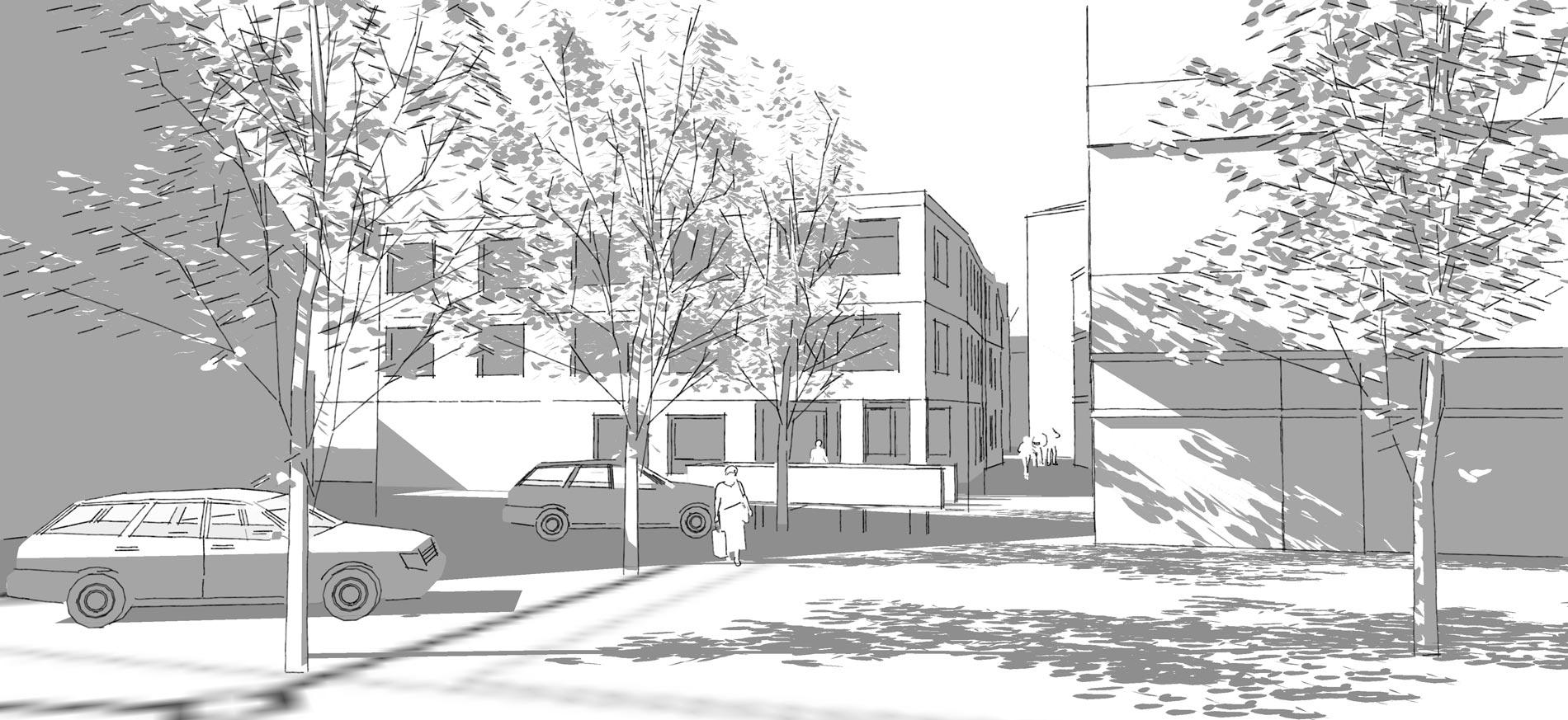 Schmid Partner Architekten Steinen Hof 4