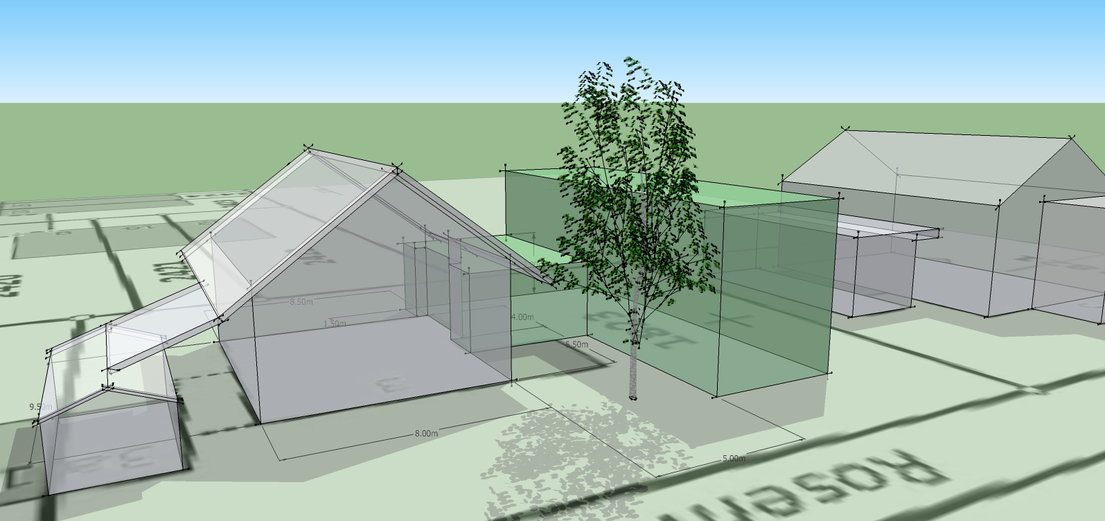 Schmid Partner Architekten Anbau C1401 Var3 2