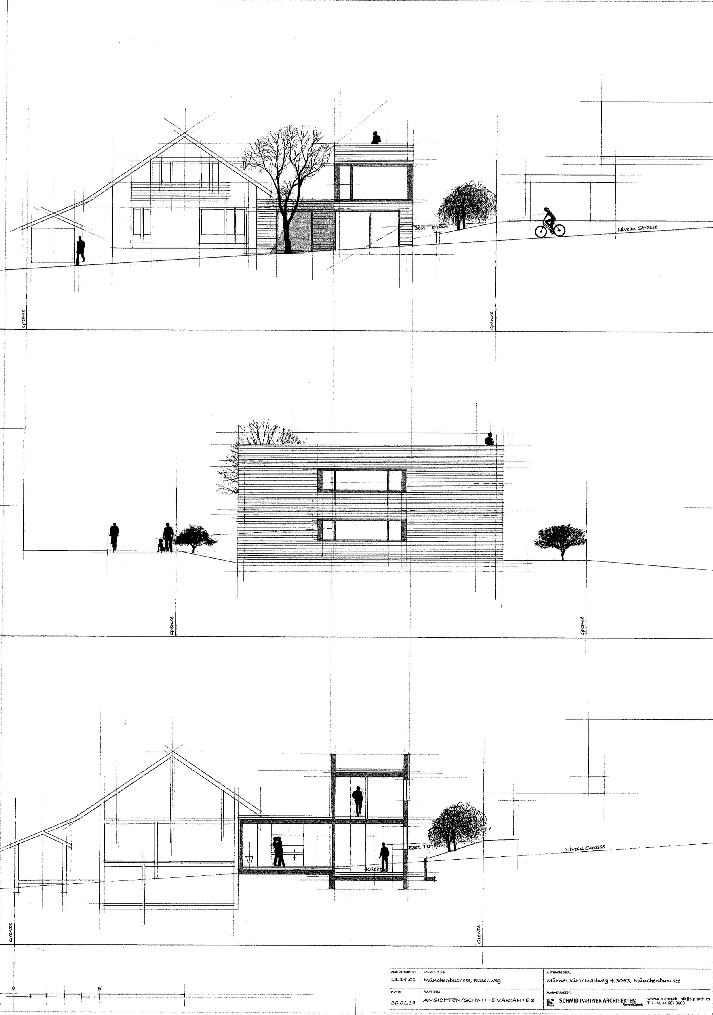 Schmid Partner Architekten Anbau C1401 Var3 Fass Kopie