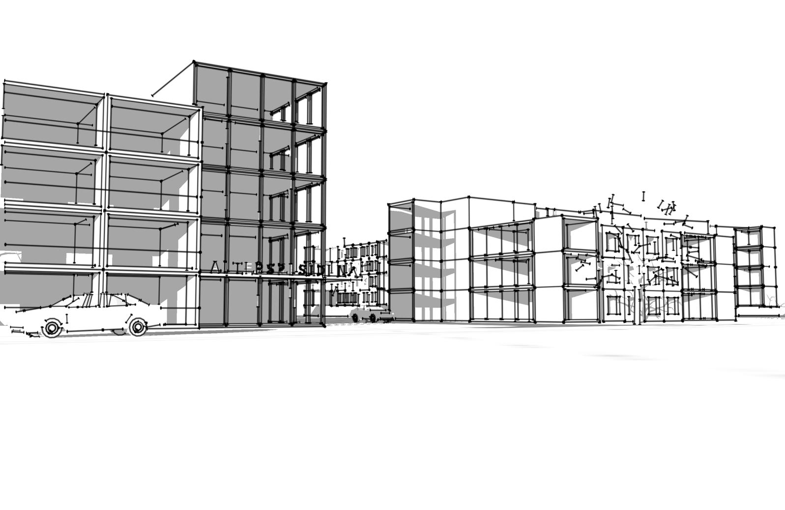 Schmid Partner Architekten Studie C10801 Iso4.1